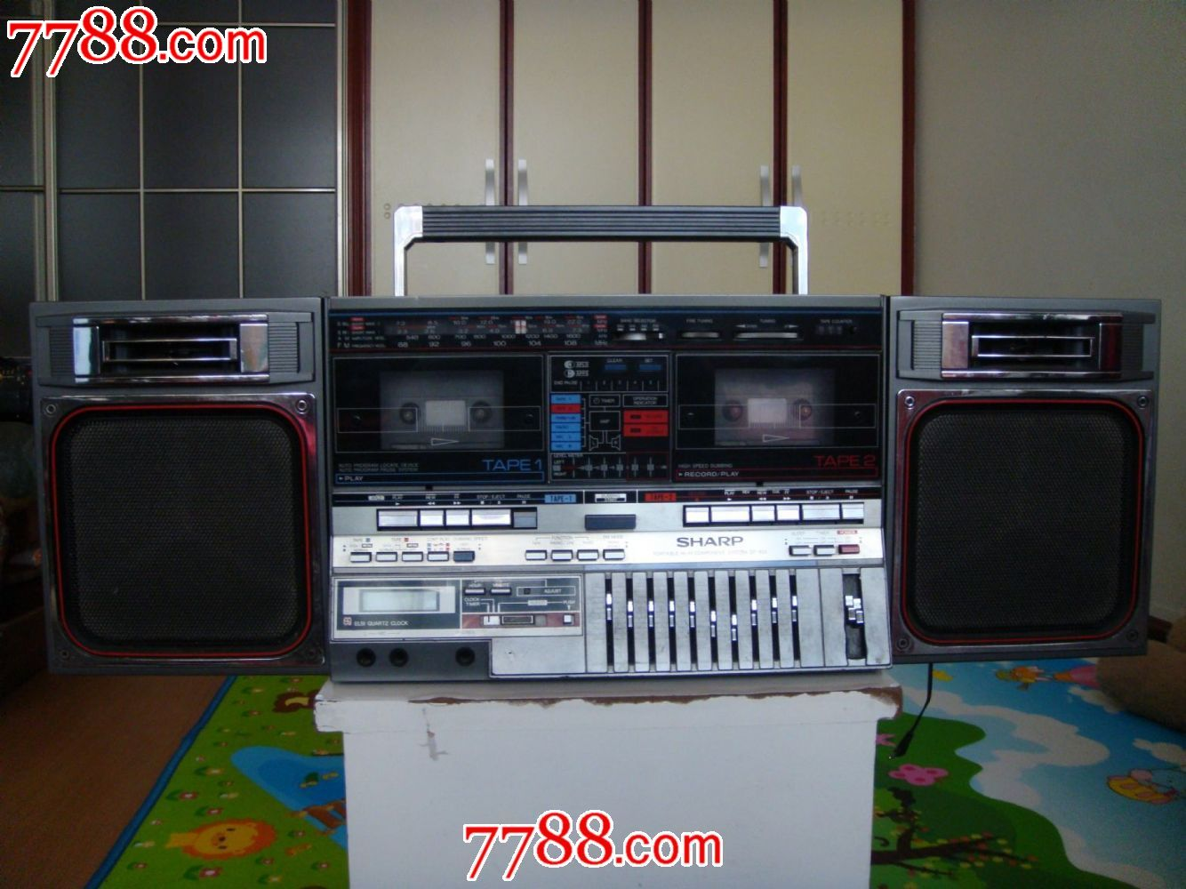 日本原装夏普gf-800收录机