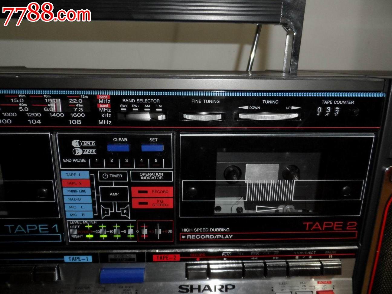 草群主礹c.?+??gf?k?9?d_全新80年代库存积压货---日本原装sharp夏普gf-800z(d