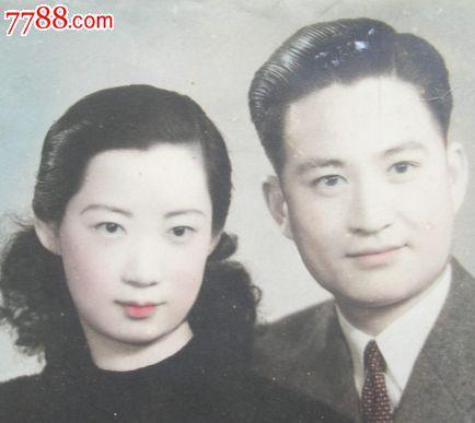 民国老照片:美女帅哥搭配