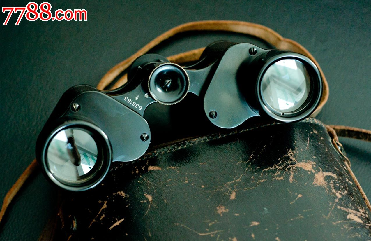 稀有的德国格尔茨1920年代8*30望远镜
