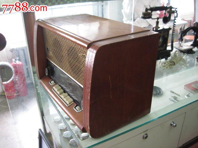 苏联双喇叭电子管收音机