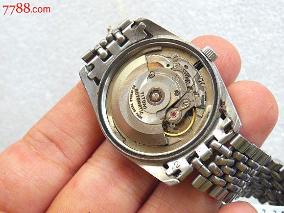 瑞士梅花手表,机芯号是精磨2836-2图片