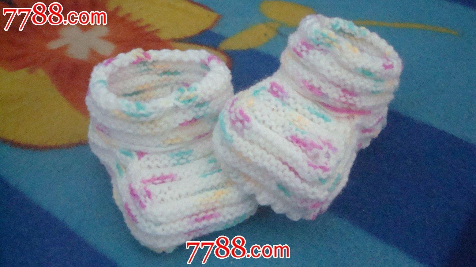 婴儿袜子的织法图解步骤