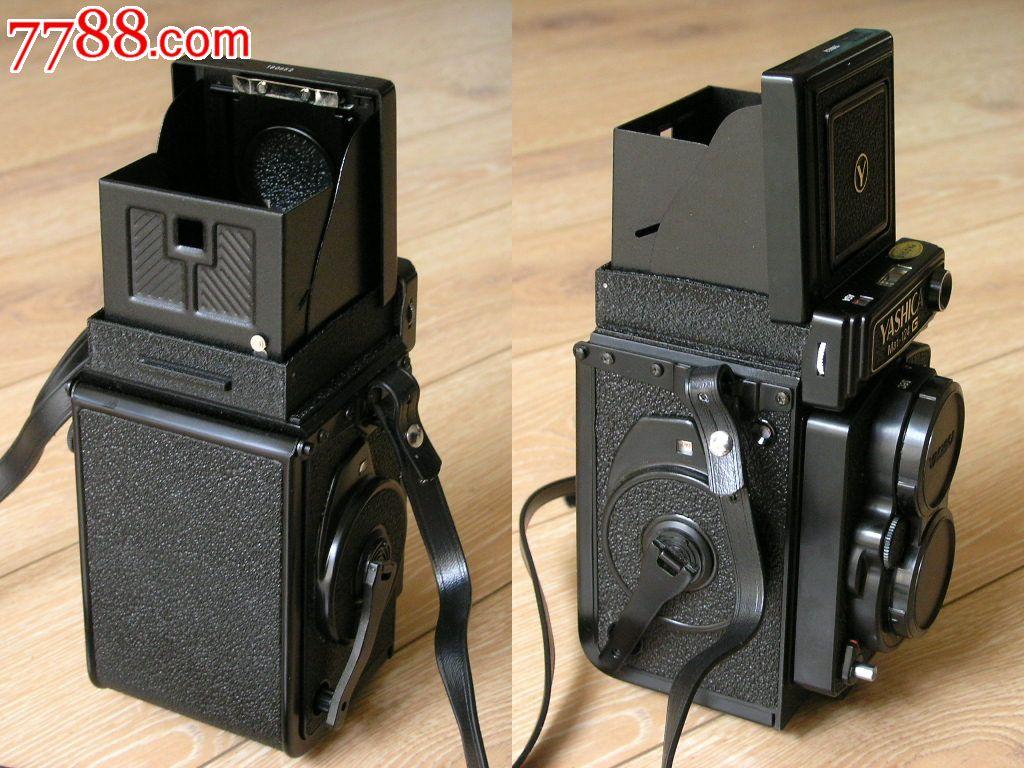 日本原装yashica雅西卡mat-124g双反中画幅双镜头照相
