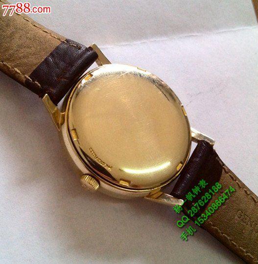欧米好品欧米茄14k包金560机芯自动机械手表图片