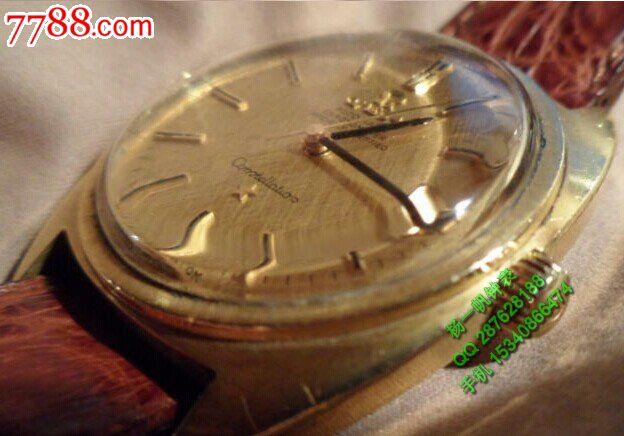 欧米茄18k实金鲍鱼款564自动机械手表图片
