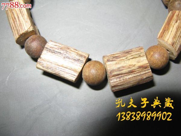 天然沉香印尼加里曼丹手串手链原木原汁原味古色大气