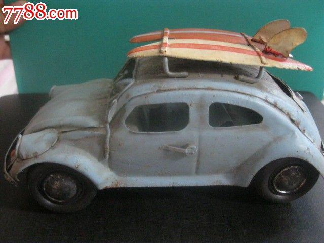 手工铁皮汽车模型