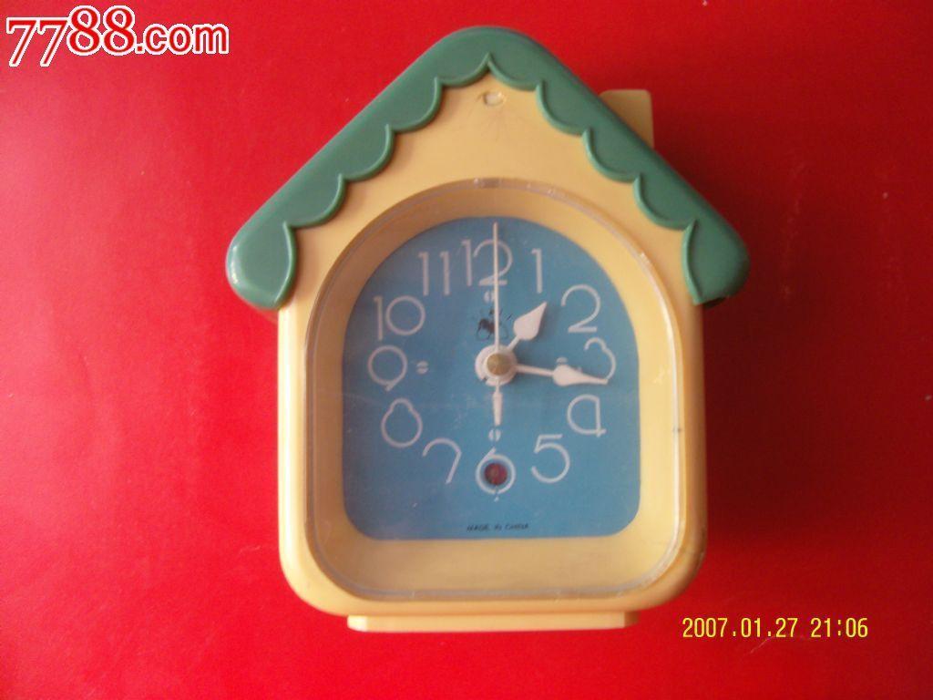 树叶手工制作闹钟