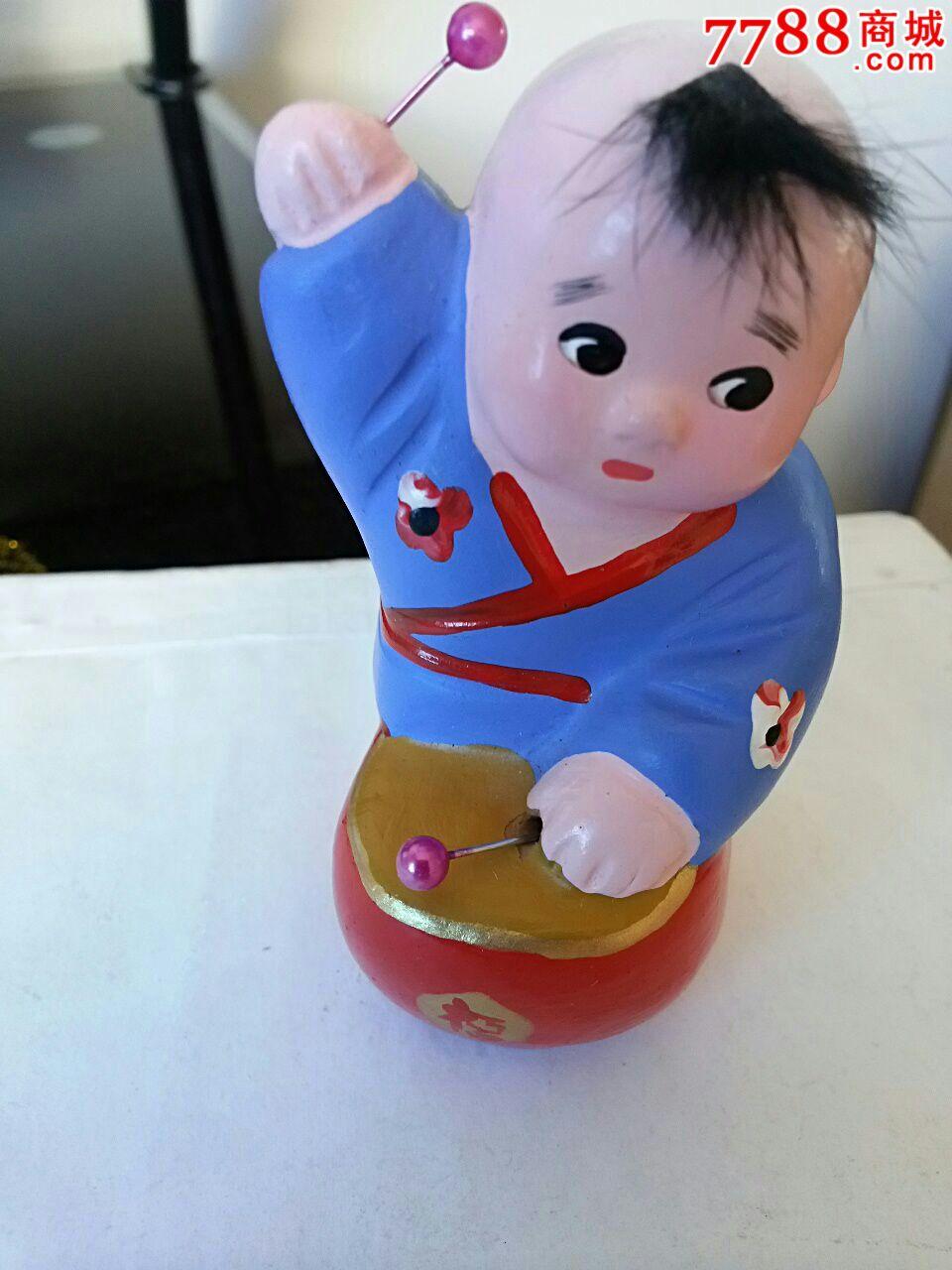 打鼓小男孩_价格18.0000元_第2张_7788收藏__中国收藏热线