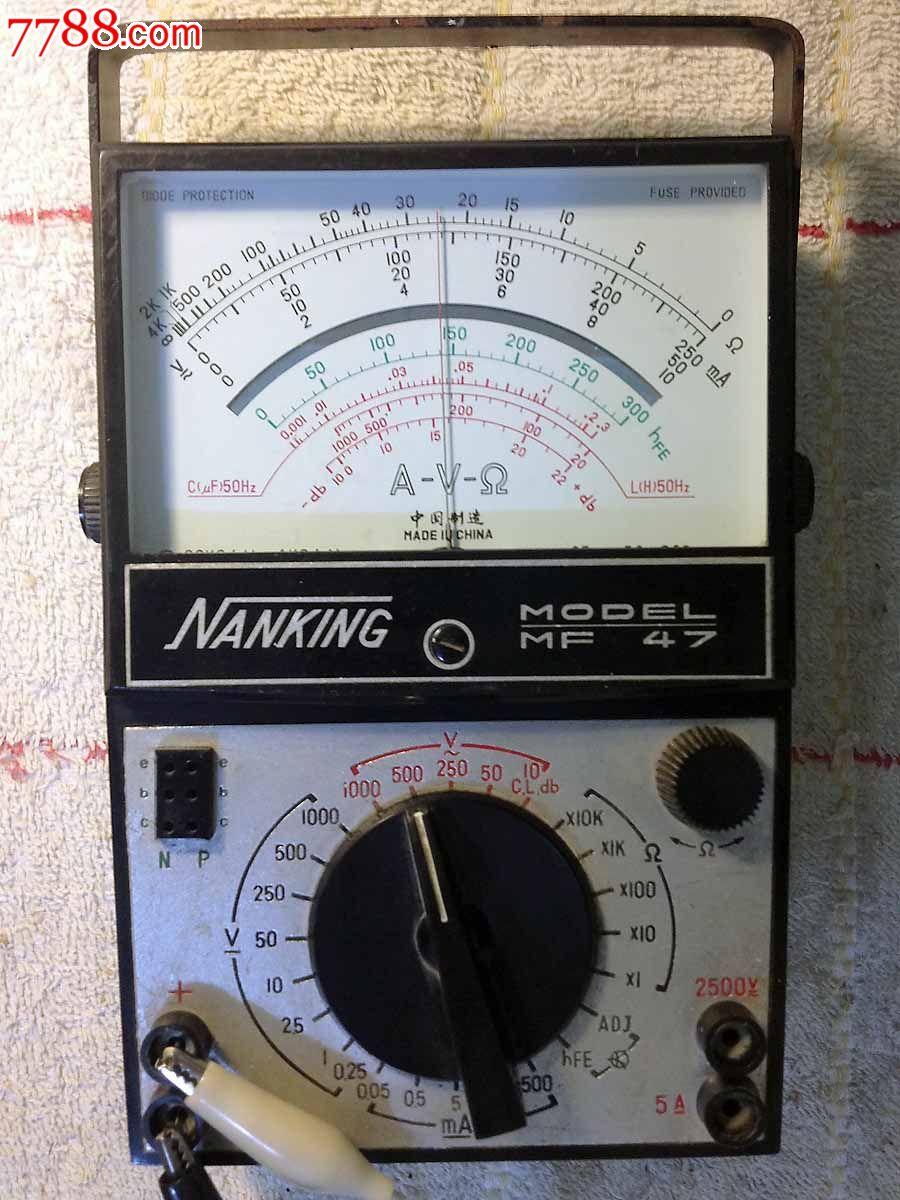 mf47指针式万用表_第7张