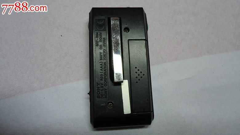 sony/索尼收音机srf-s84/袖珍便携式