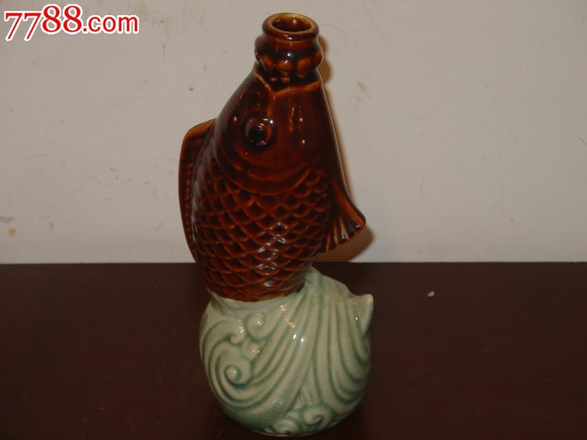 陶瓷酒瓶收藏/动物老酒瓶/鱼型酒瓶