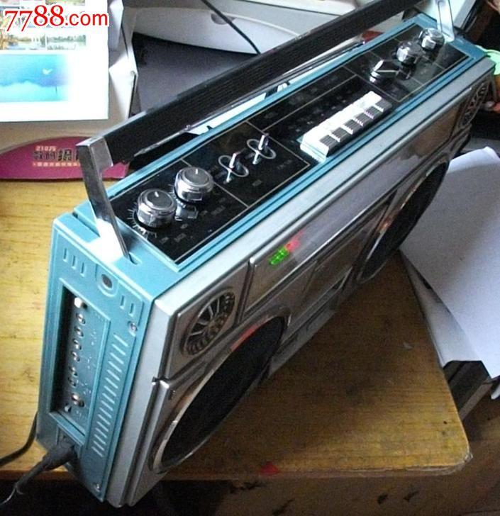 好品好声实用80年代星球sl302收录机录音机(不议价)