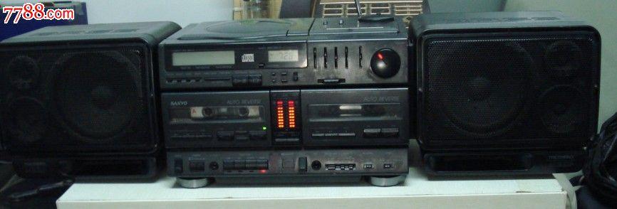 全网独家推出日本本土原装sanyo三洋mcd850收录机/超级音效