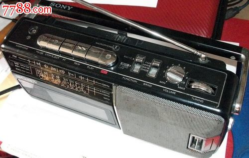 sony索尼收录机录音机,收音正常