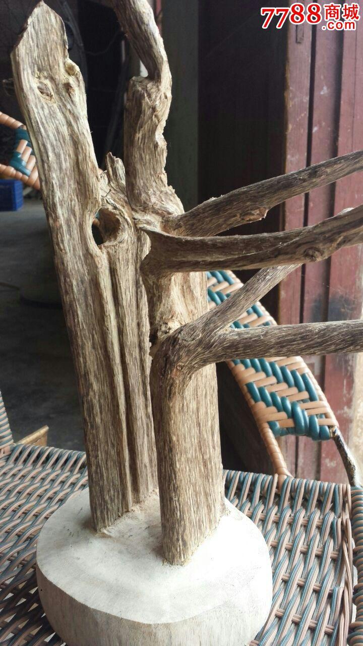 沉香木头(木根沉香雕刻)