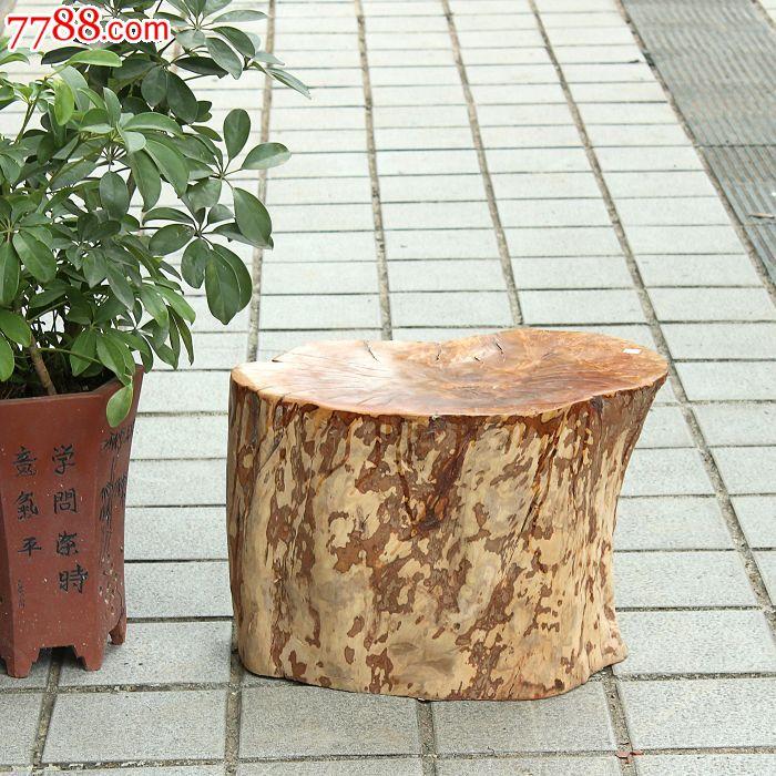 树桩桌子椅子简笔画