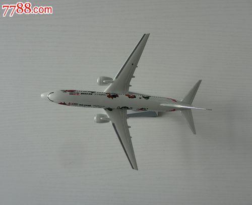 中国国际航空公司2008年北京奥运福娃飞机模型_价格40.