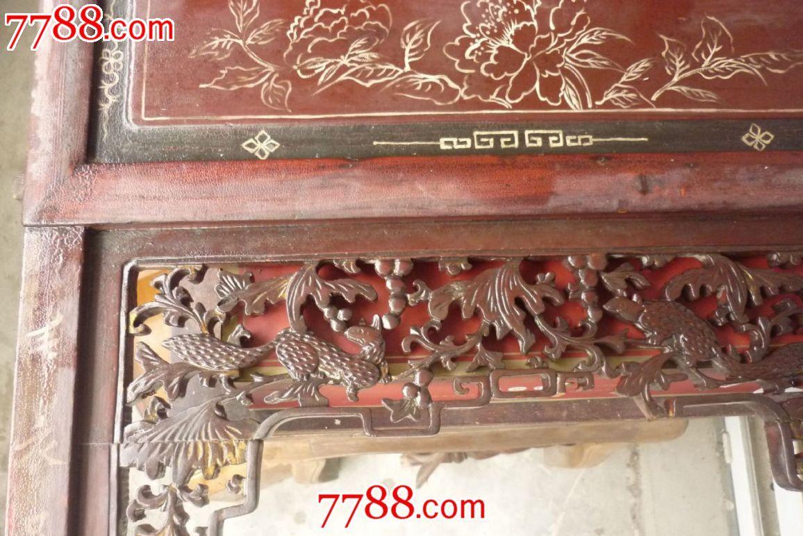 木雕花板1对_第3张_7788收藏__中国收藏热线