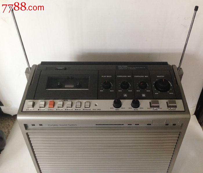 日本广场松下便携式单卡录音机wx-800ac带卡拉ok功适合侧滑舞原装实验台图片