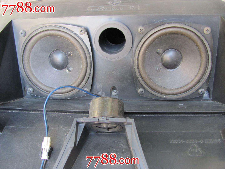 拆机喇叭:三星名品老电视里的音箱一对