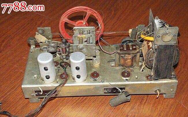 牡丹624电子管收音机机芯