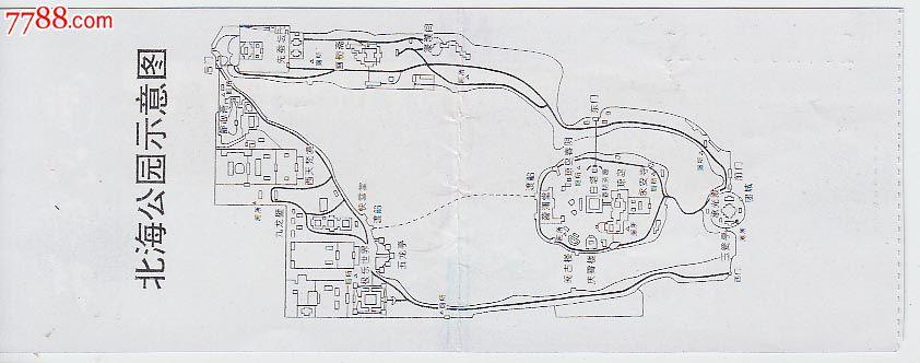 公园平面图简笔画
