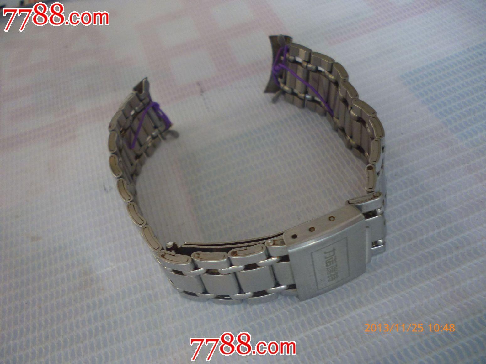 折叠钢扣古董老表带一