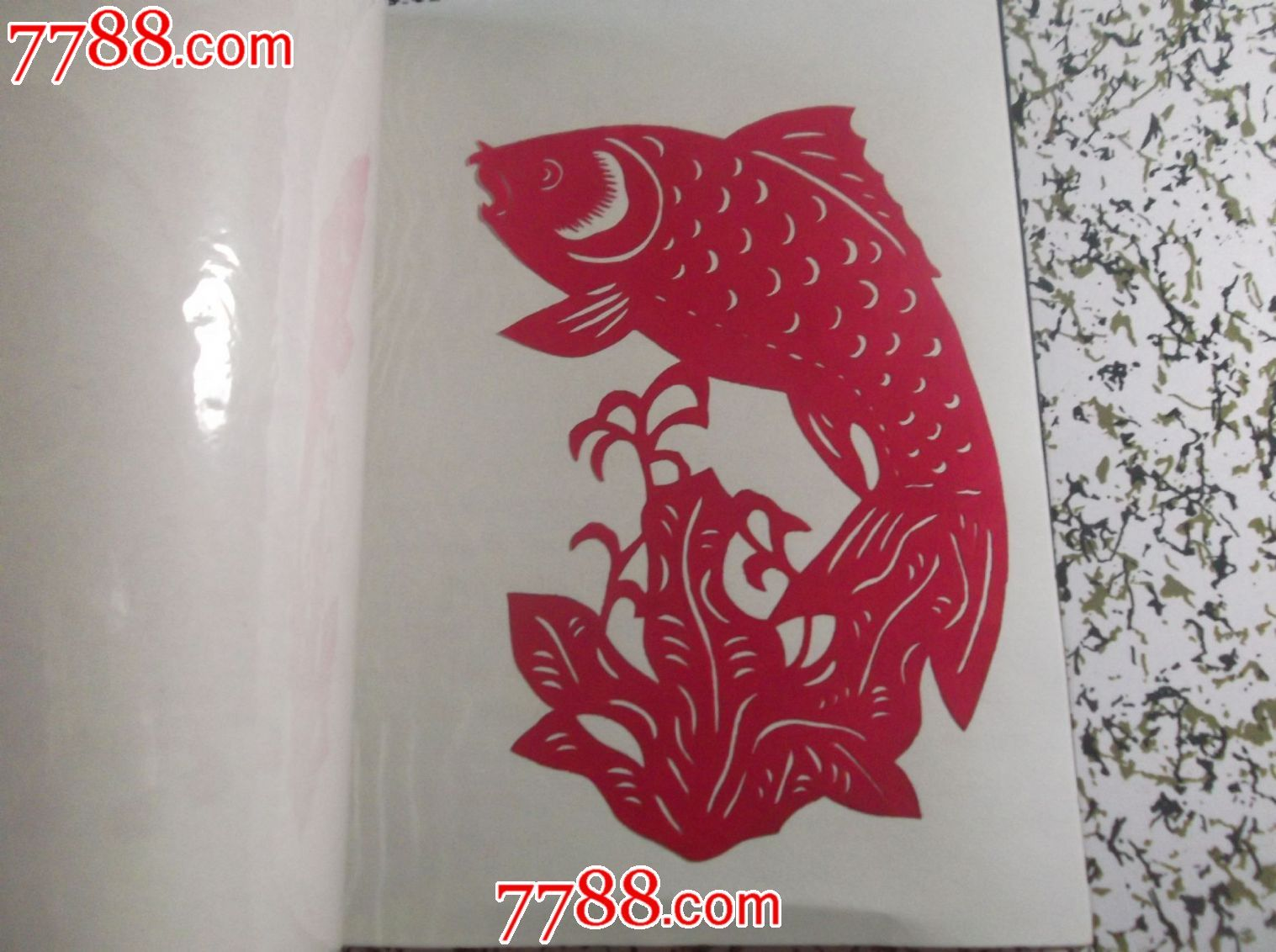 中国民间剪纸《金鱼》一套8张-se24446103-剪纸/窗花